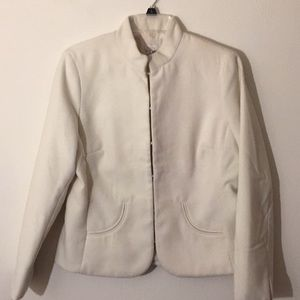 🧥Chico's Winter White Jacket - Size 1